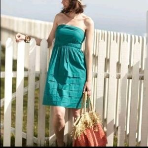 Maeve teal summer dress